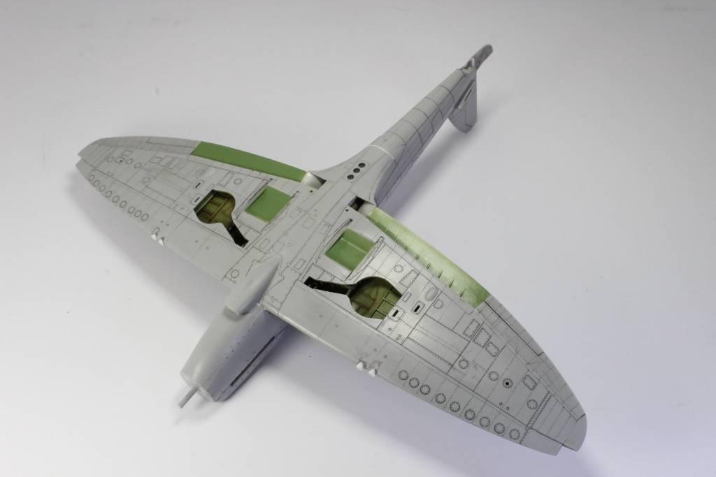 Spitfire F MK 22 , Eduard 1/48 .Limited édition ! 151229051956198834