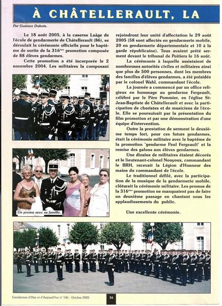 En l'honneur du Gendarme Paul Fergeault de Lezay (79120) 151229055817851339