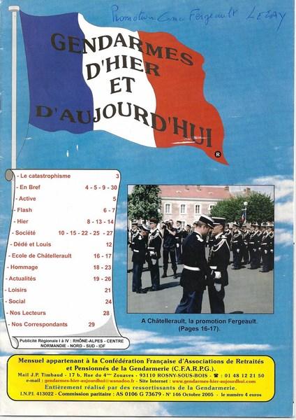 En l'honneur du Gendarme Paul Fergeault de Lezay (79120) 15122905583474782