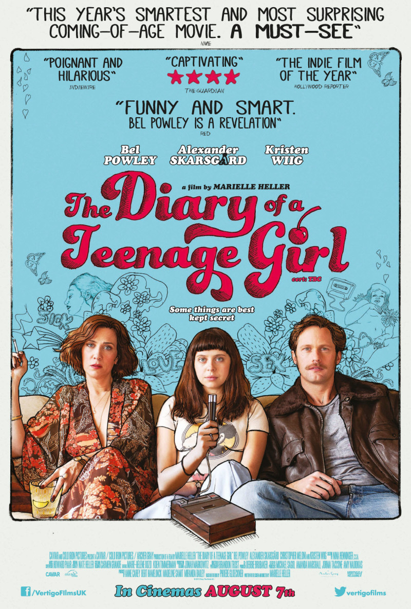 The Diary of a Teenage Girl (2015) poster image
