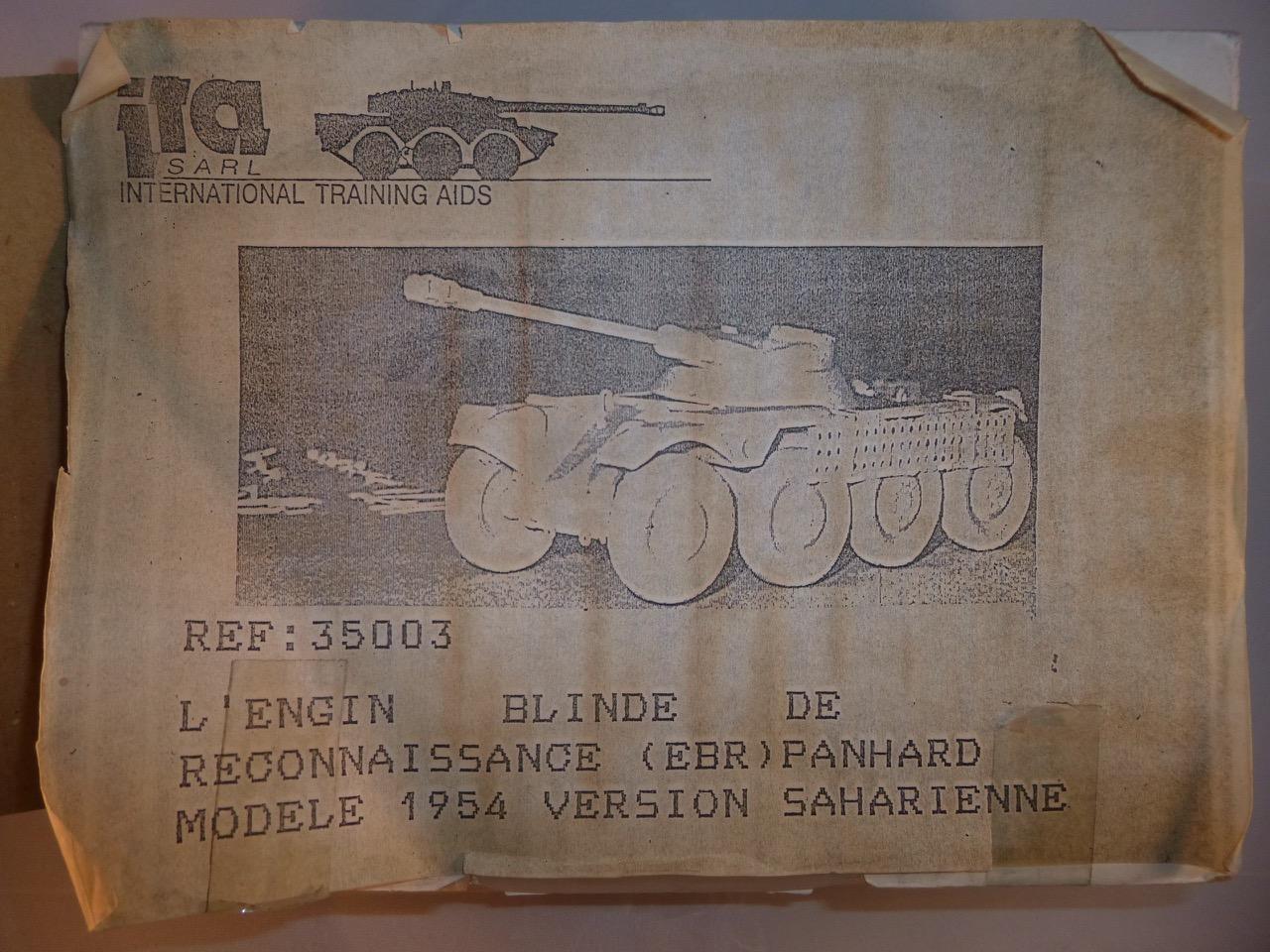 EBR 1/35 en Algérie 1954 marque ITA 151231043022253514