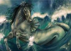 vue d'artiste d'un Hippocampe