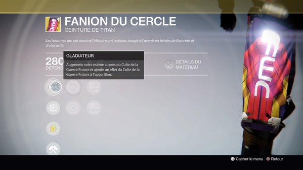 Fanion du Cercle