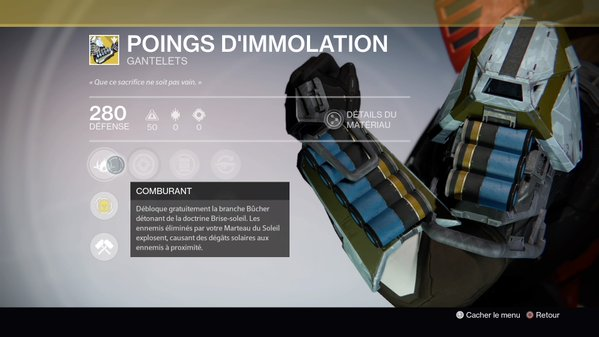 Poings d'Immolation