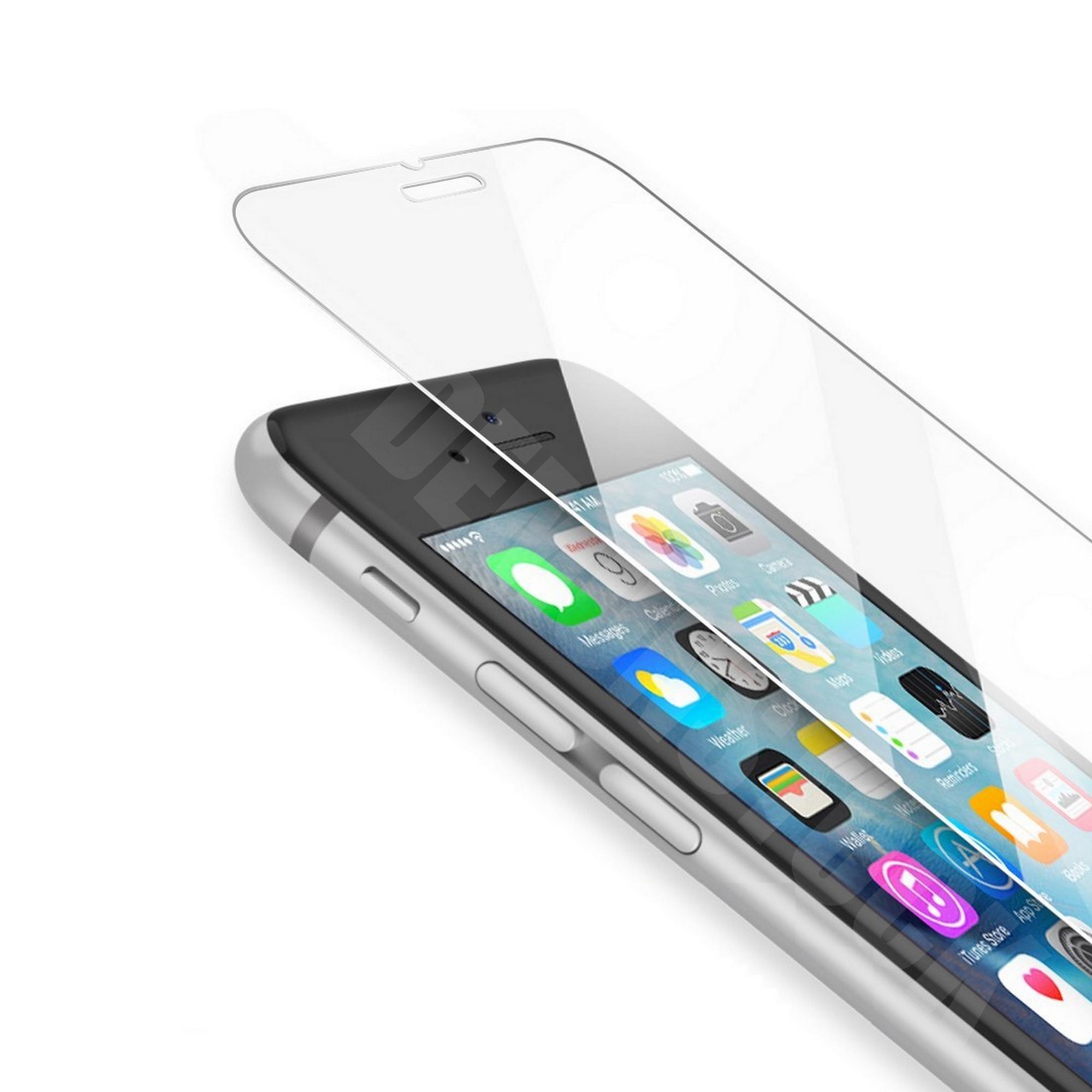 vitre en verre tremp film de protection d 39 cran iphone 4 5 6 s plus incassable ebay. Black Bedroom Furniture Sets. Home Design Ideas