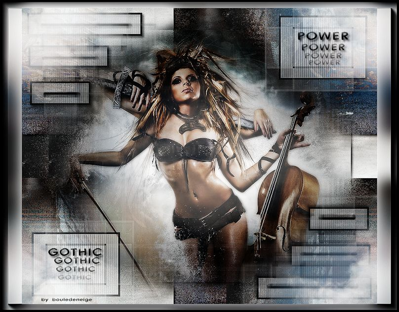 tuto perso power gothic