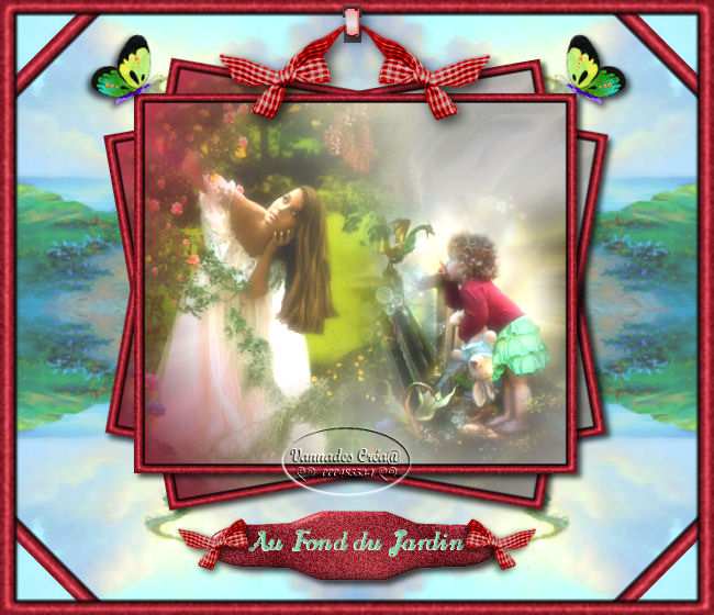 """18- """"Au Fond du Jardin"""" tuto de vannades cré@ 160111054336441139"""
