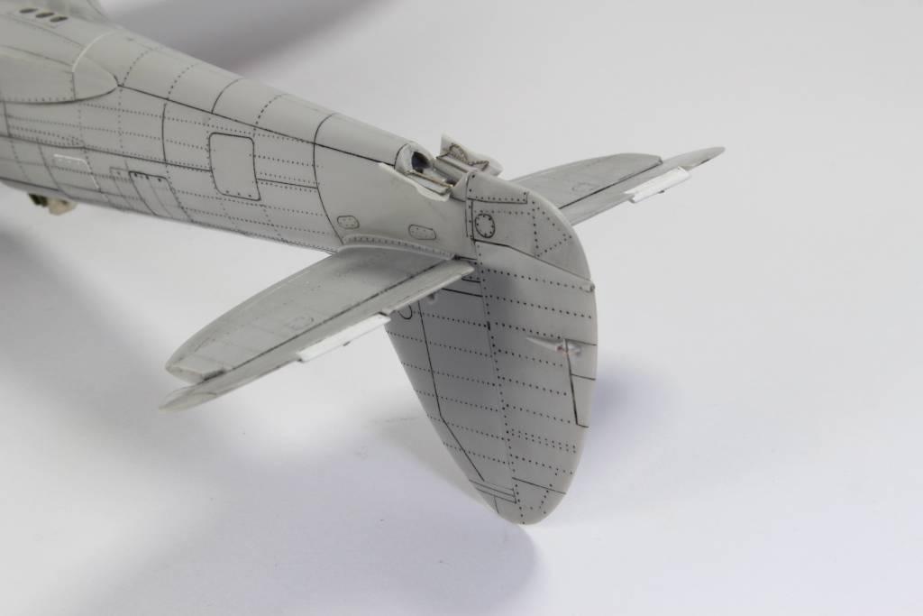 Spitfire F MK 22 , Eduard 1/48 .Limited édition ! 160111075750664219