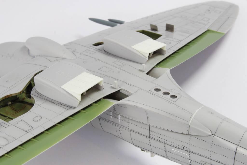 Spitfire F MK 22 , Eduard 1/48 .Limited édition ! 160111080031383257