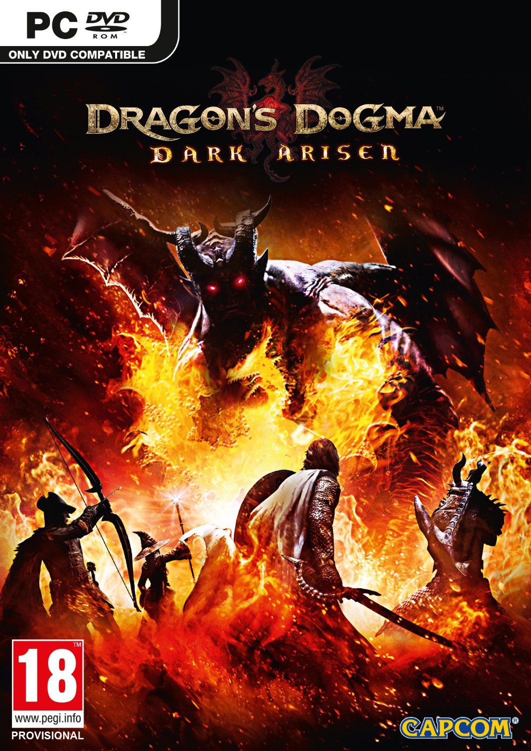 Poster for Dragon's Dogma: Dark Arisen