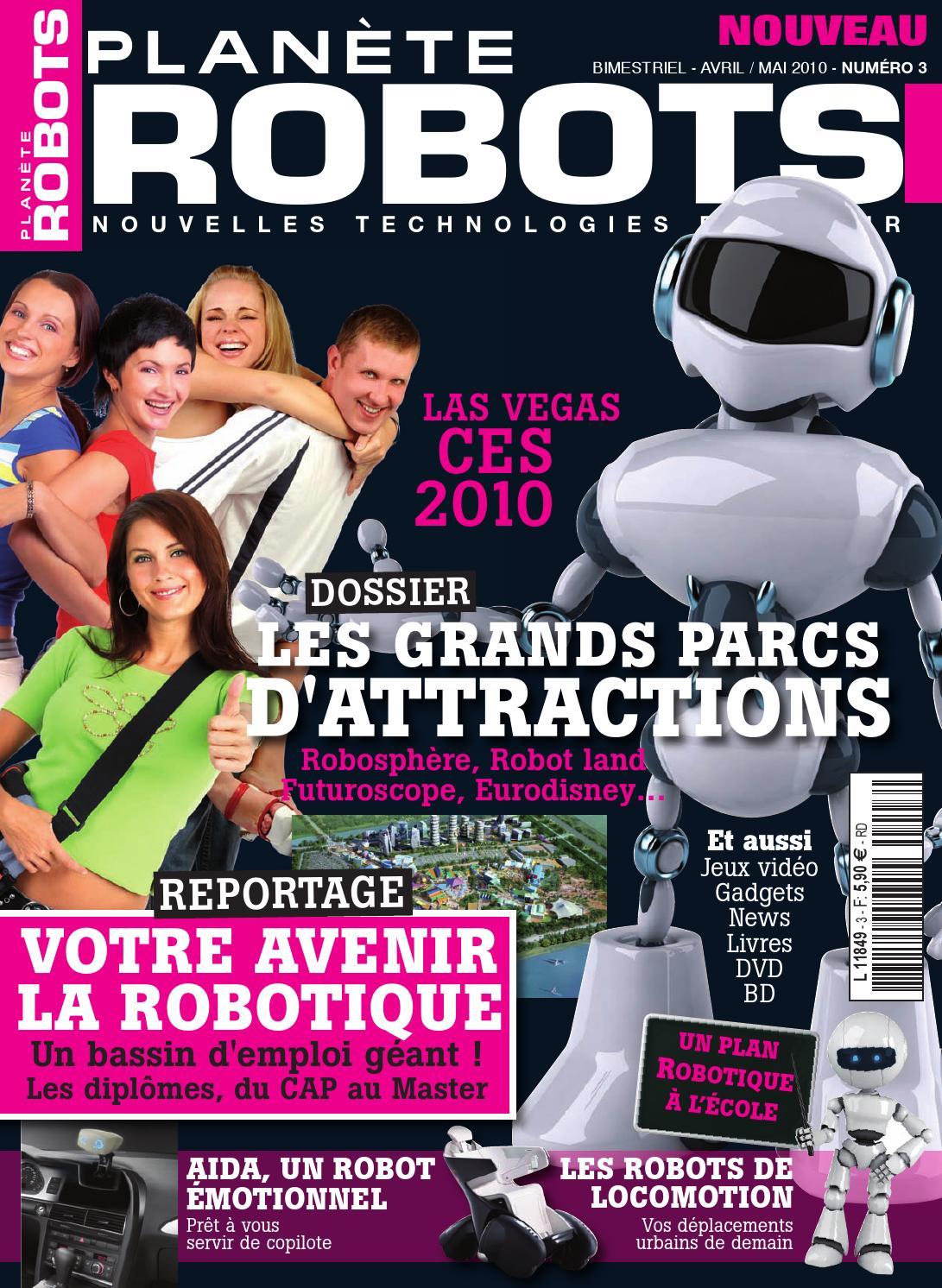 Planète Robots No.3