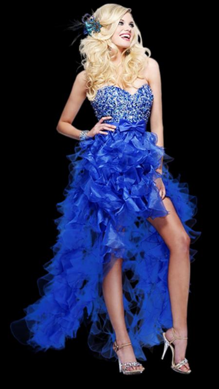 robe bleu de dydy