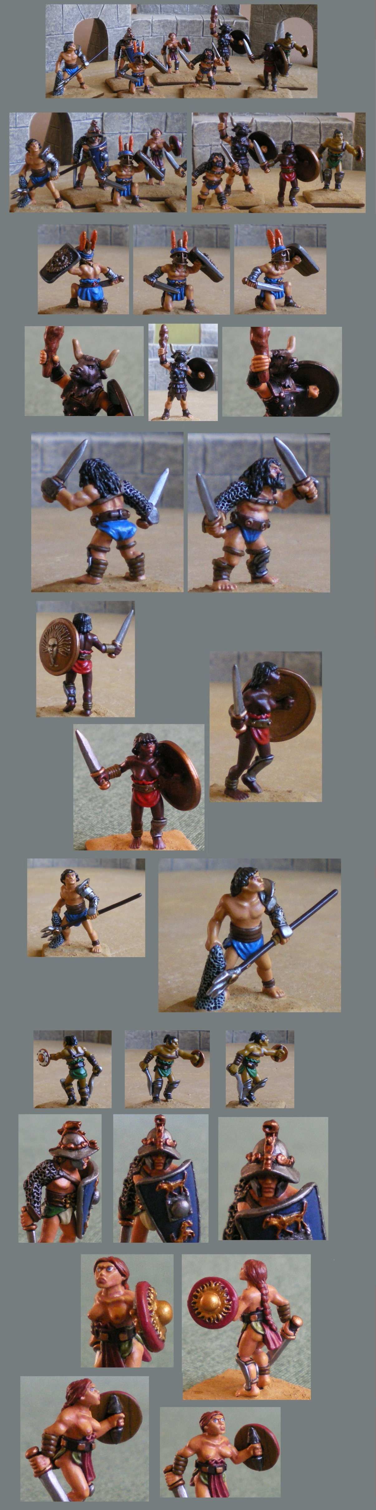 Gladiateurs (28mm) 160120014740784630