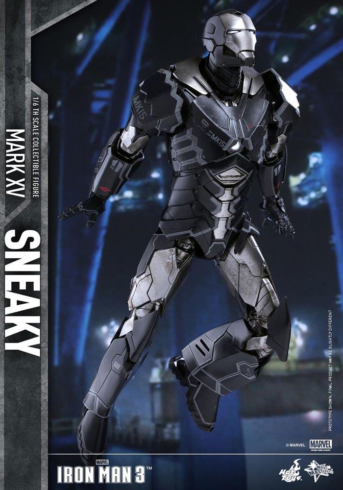 "IRON MAN 3 - MARK XV ""SNEAKY"" (MMS348) 160122024205653676"