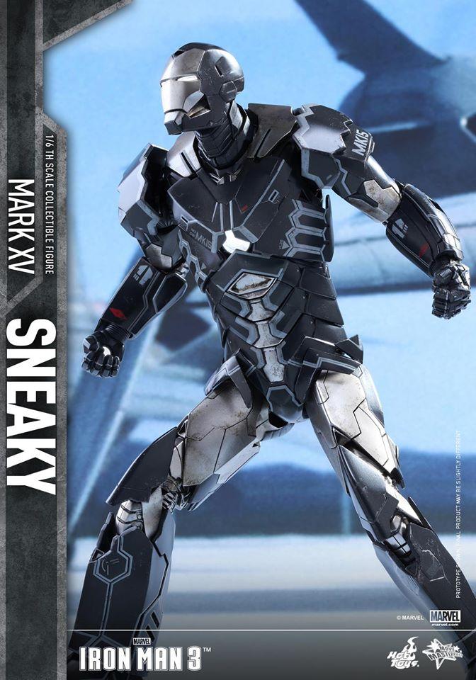 "IRON MAN 3 - MARK XV ""SNEAKY"" (MMS348) 160122024217502265"