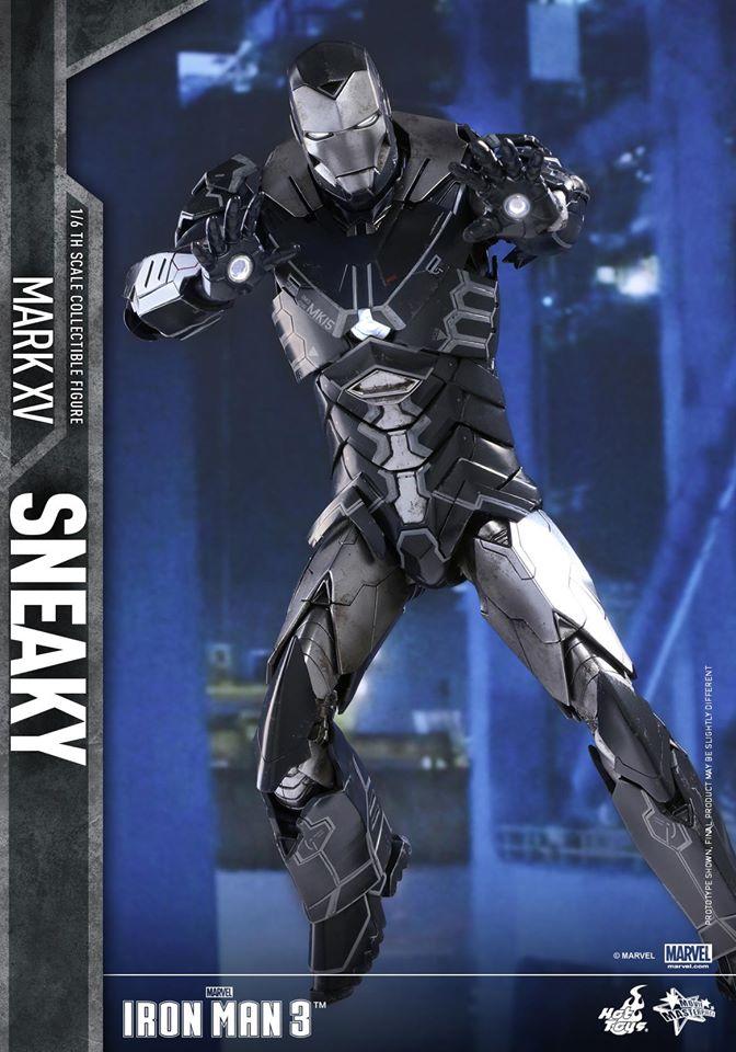 "IRON MAN 3 - MARK XV ""SNEAKY"" (MMS348) 160122024218191404"
