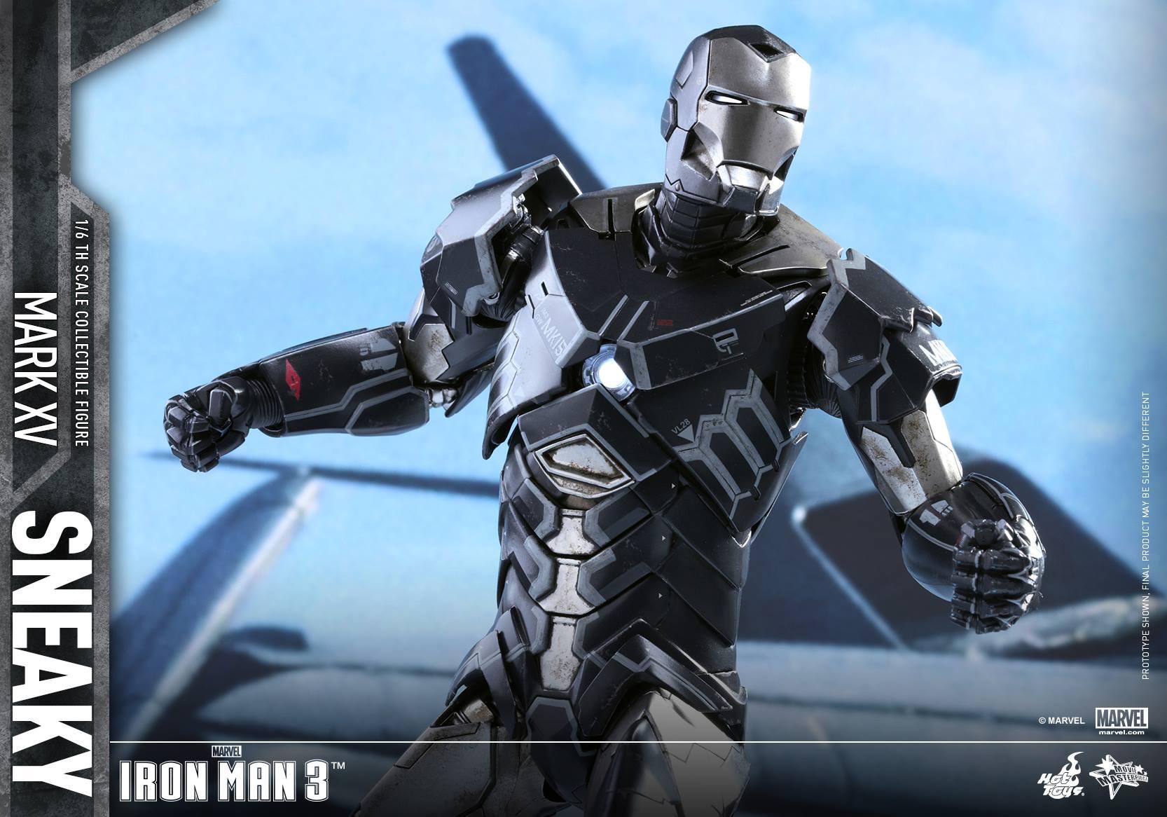 "IRON MAN 3 - MARK XV ""SNEAKY"" (MMS348) 160122024223849654"