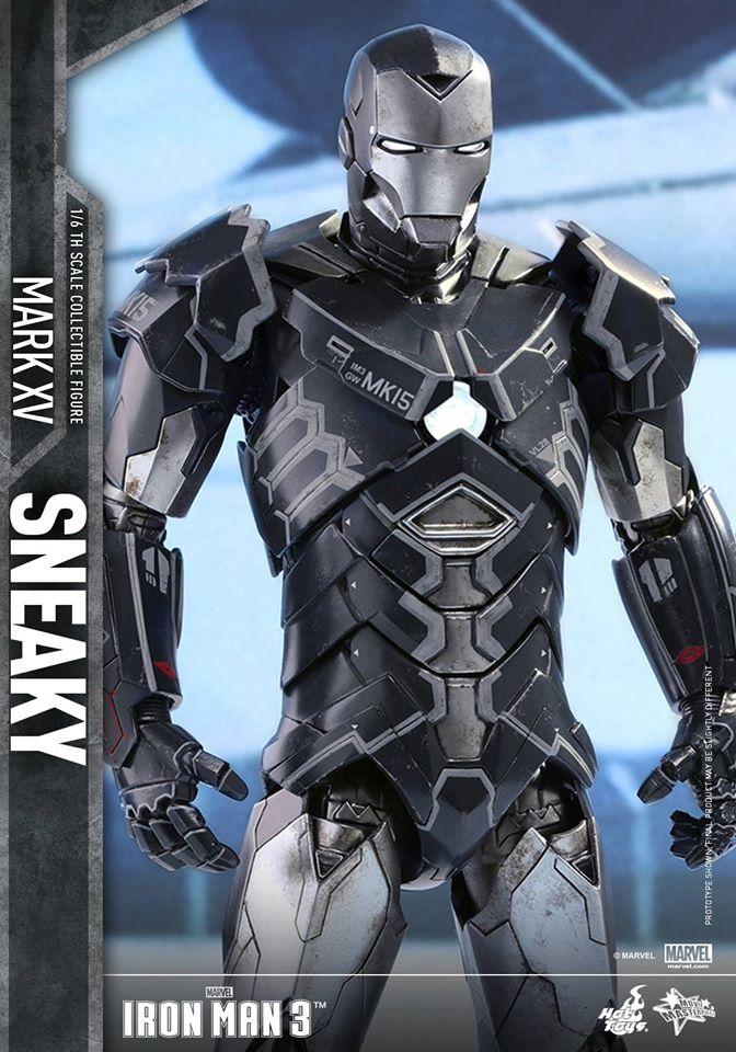 "IRON MAN 3 - MARK XV ""SNEAKY"" (MMS348) 160122024229851135"