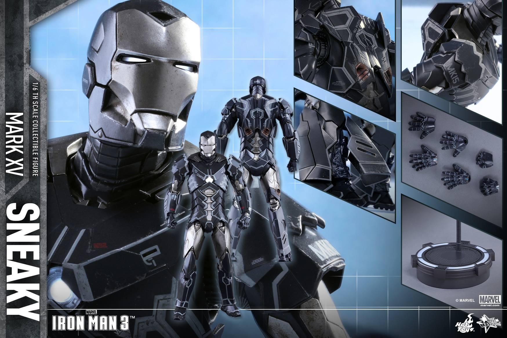 "IRON MAN 3 - MARK XV ""SNEAKY"" (MMS348) 160122024230950358"