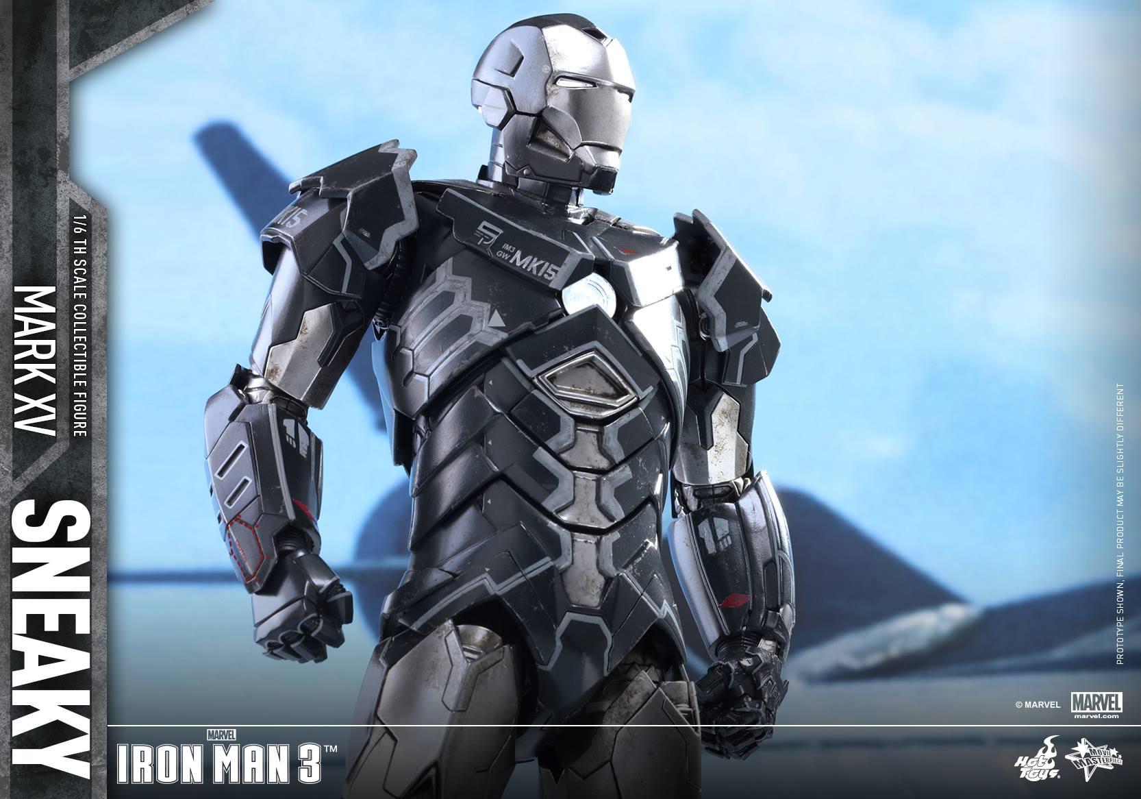 "IRON MAN 3 - MARK XV ""SNEAKY"" (MMS348) 160122024233935086"