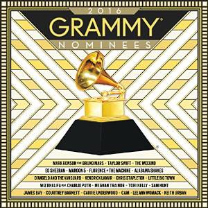 Poster for 2016 Grammy Nominees