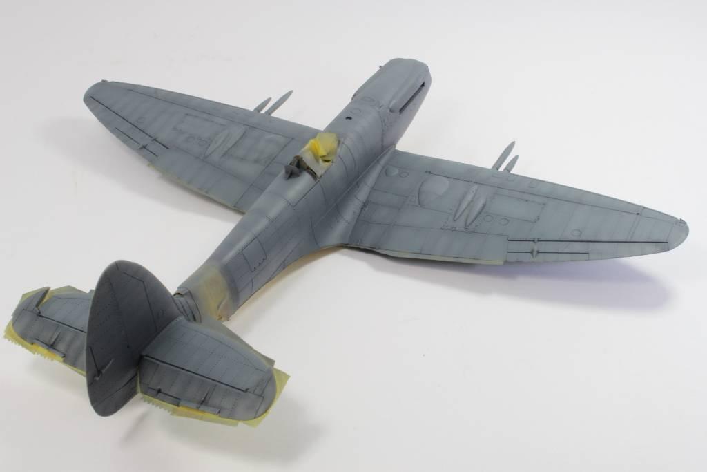 Spitfire F MK 22 , Eduard 1/48 .Limited édition ! 160124121858240295