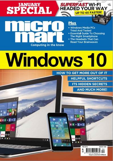 Micro Mart – 28 January 2016