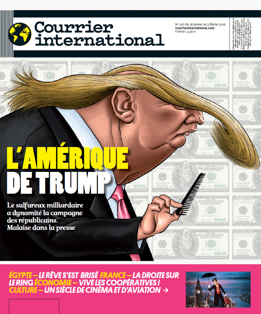 COURRIER INTERNATIONAL N°1317 du 28 Janvier au 3 Février 2016