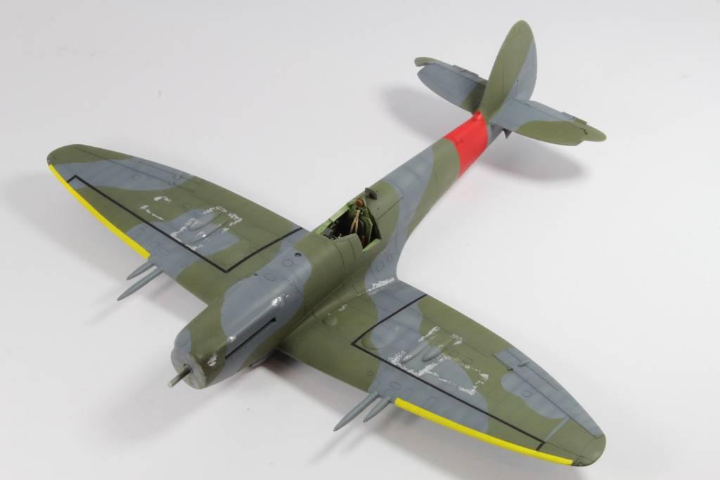 Spitfire F MK 22 , Eduard 1/48 .Limited édition ! 160131082744741438