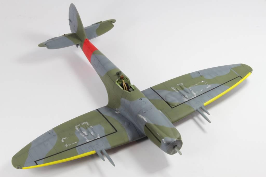 Spitfire F MK 22 , Eduard 1/48 .Limited édition ! 160131082831483808
