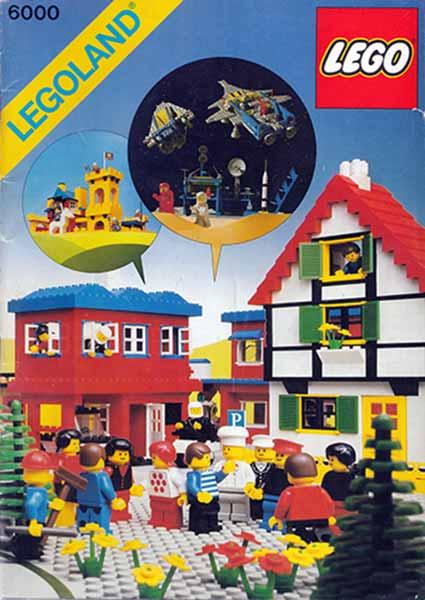 télécharger Lego 6000 - Legoland - 1979