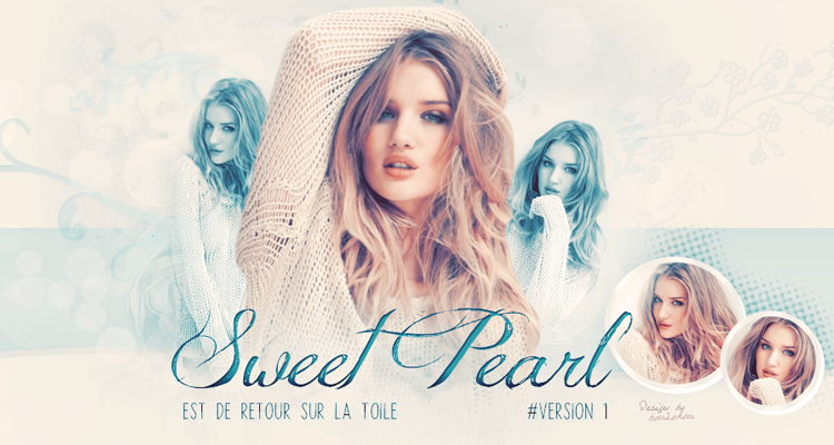 Sweet Pearl - Ta nouvelle référence graphique