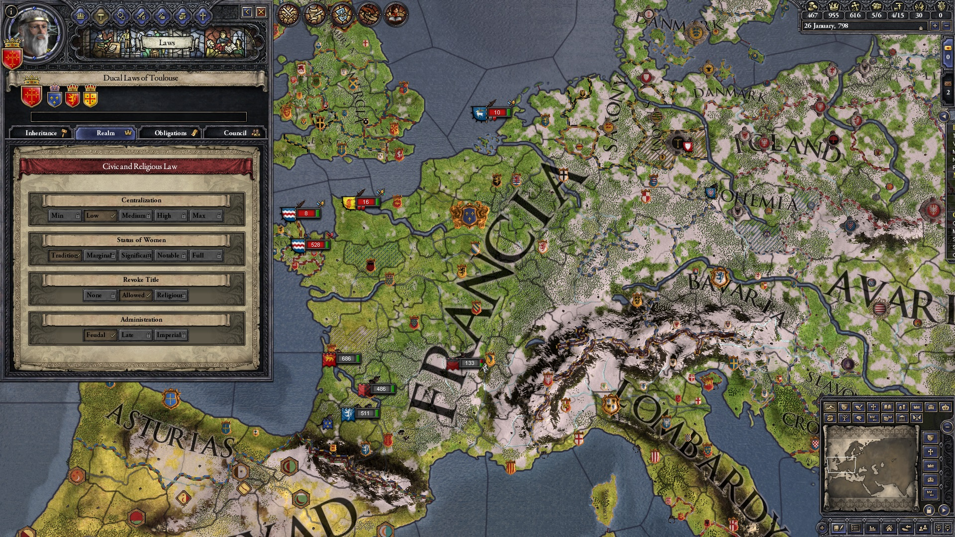 Crusader Kings II: Conclave image 3