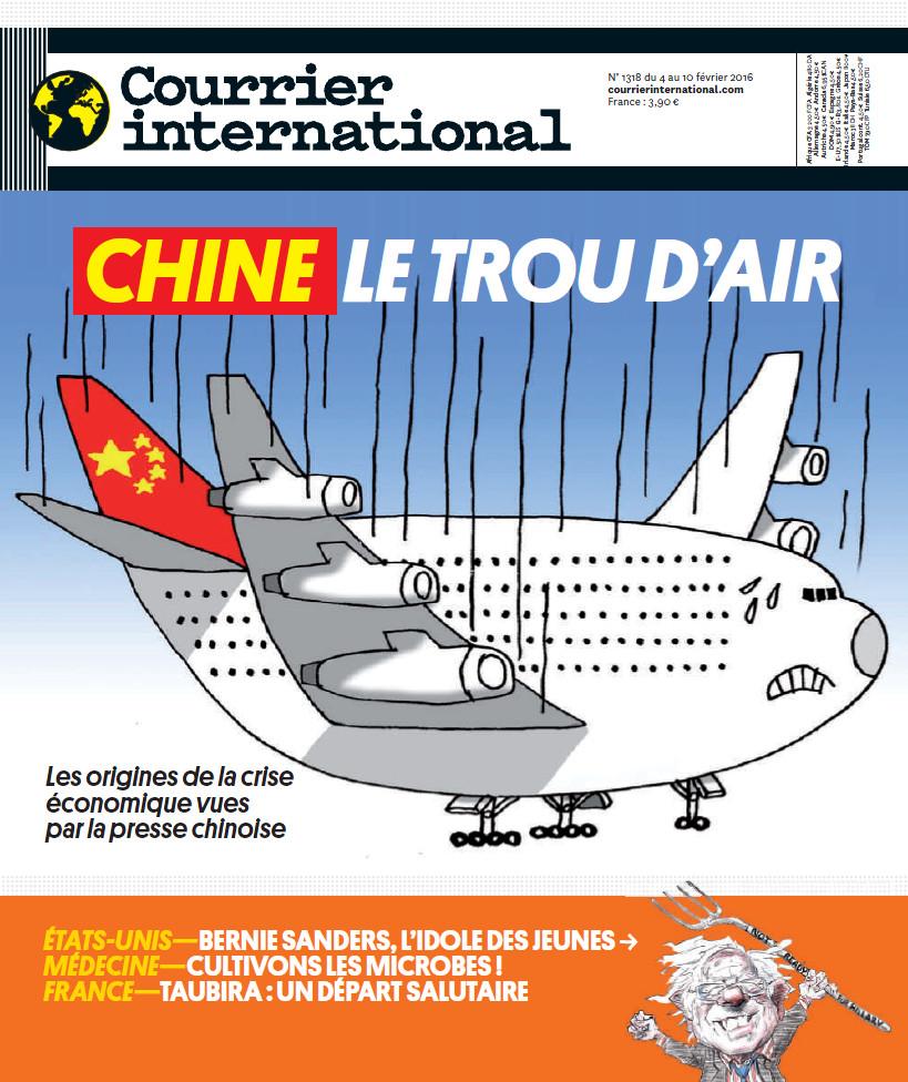 COURRIER INTERNATIONAL N°1318 du 4 au 10 Février 2016