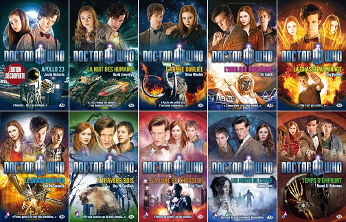 Doctor Who - 10 Tomes + 4 Hors Série - Collection Milady