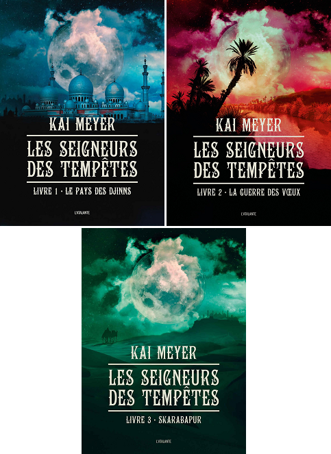 Trilogie Les Seigneurs des Tempêtes - Kai Meyer