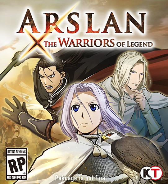 Poster for Arslan: The Warriors of Legend