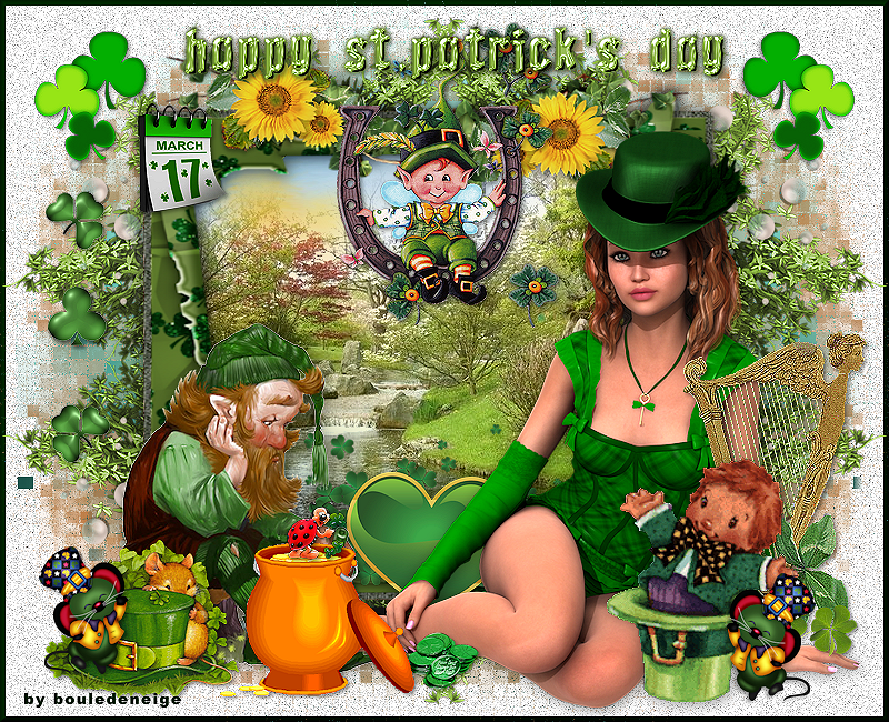 tuto happy st patrick days 2016