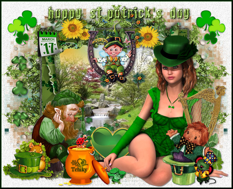 Cré@Tchiky Happy St Patrick Days 2016