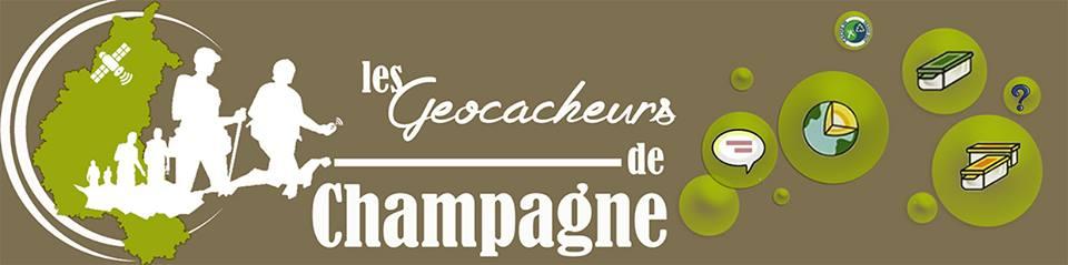 bannières geocacheurs de champagne
