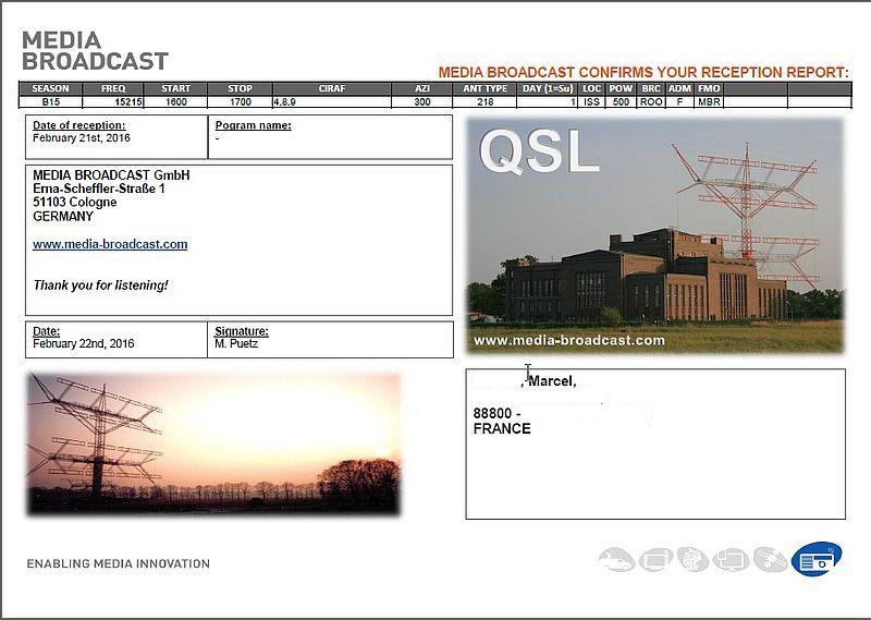eQSL de Média Broadcast  160222063030403604