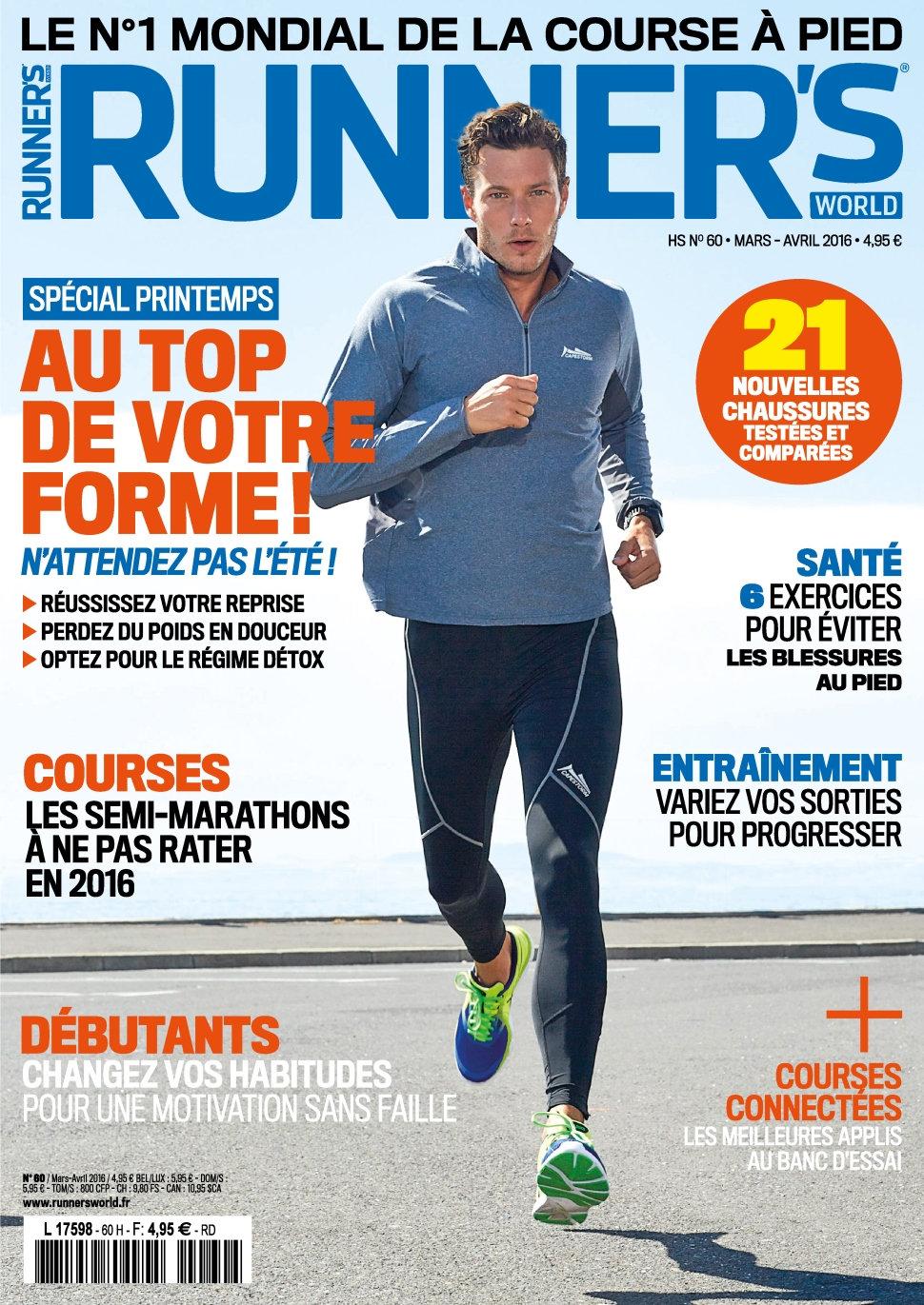 Runner's World N°60 - Mars/Avril 2016