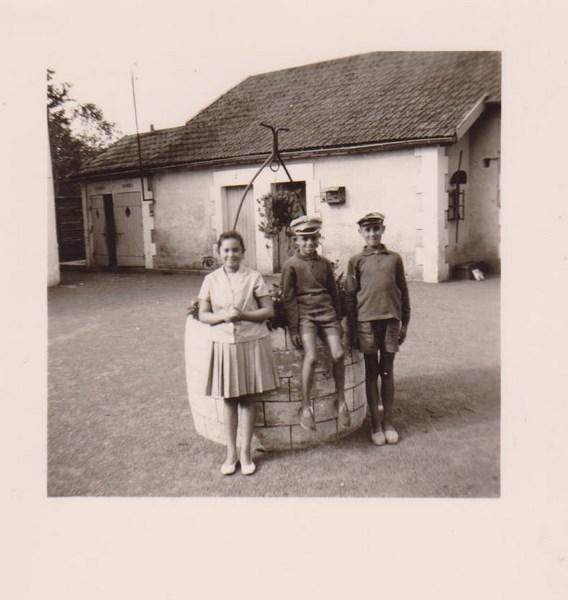 mon enfance ,en brigade à Lezay(79)en 1956 160223062446674547