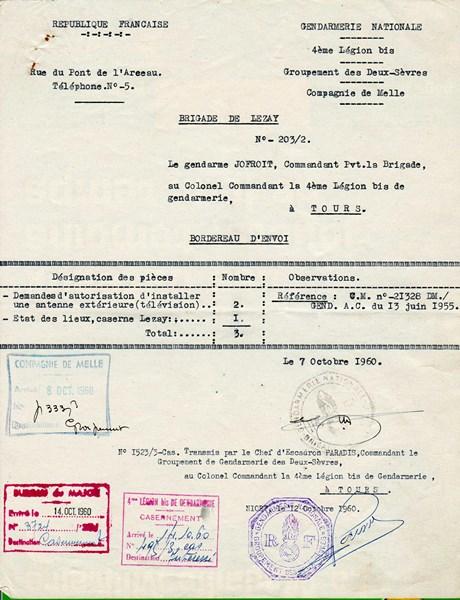 mon enfance ,en brigade à Lezay(79)en 1956 160224114630966033