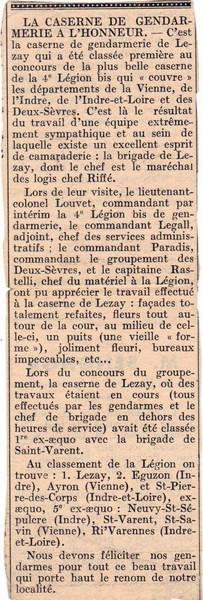 mon enfance ,en brigade à Lezay(79)en 1956 160225063444535933