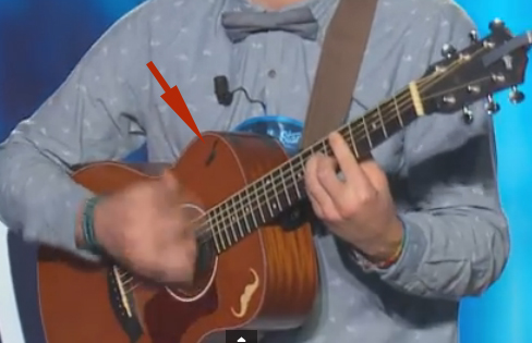 Captation guitare émission Nouvelle Star (chaine D8) 160229012708519843