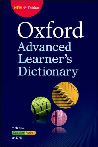 Poster for Oxford Advanced Learners Dictionary 9th Edition
