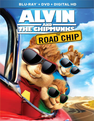 Alvin and the Chipmunks: The Road Chip (2015) poster image
