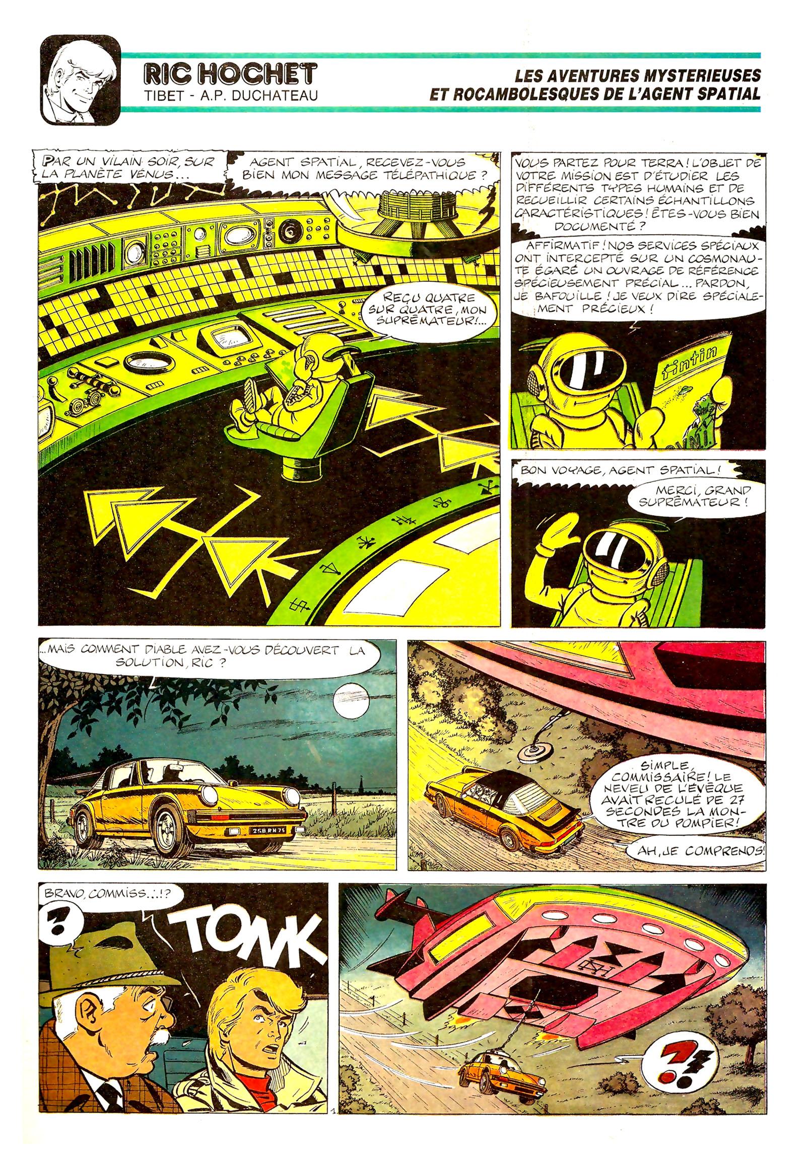 TINTIN - Les aventures de l'agent spatial