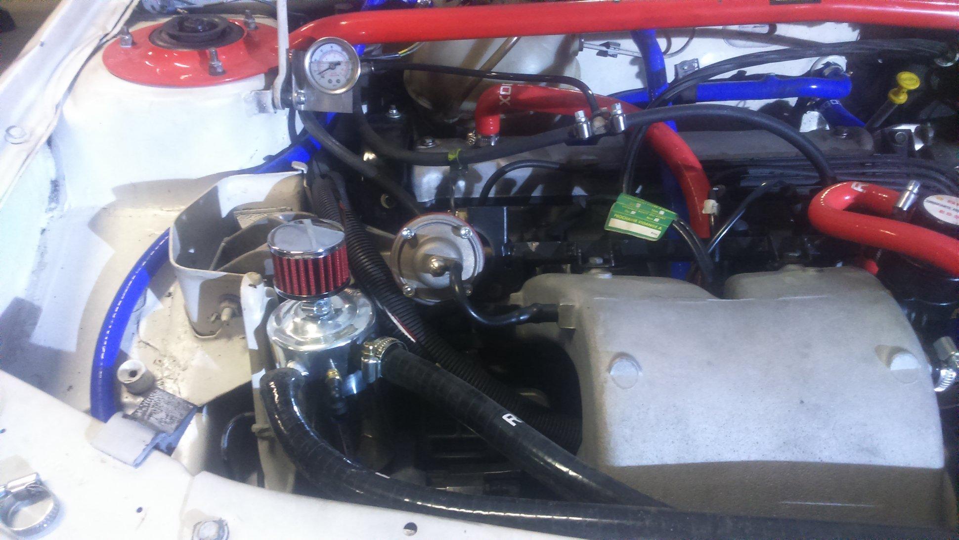 Montage d'un récupérateur d'huile sur 205 GTI 160302073745482569